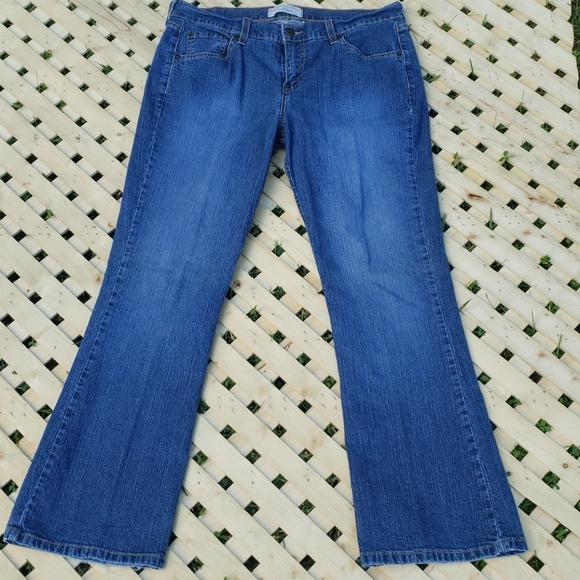 Levi Stretch Bootcut Womens Denim Jean's